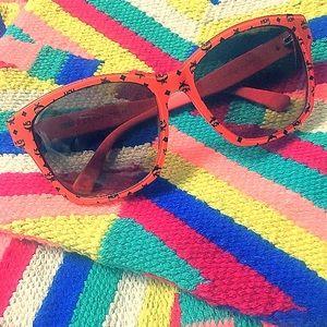 NWOT*MCM Orange Logo Sunglasses